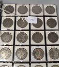 Lot 22: US silver Morgan dollars