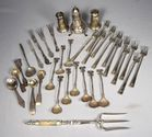 Lot 179: Sterling/Coin Silver Tableware