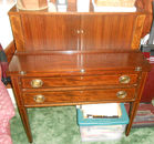 Federal Desk w/Inlaid Wood