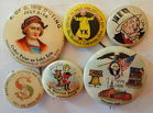 Assorted Vintage Pinbacks