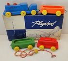 Vintage Playskool Freight Train