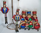 Katherine's Monkey Toy Soldier Ornaments