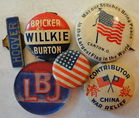 Political & Other Pinbacks