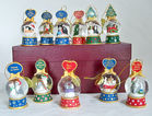 Danbury Mint Snow Globe Ornaments