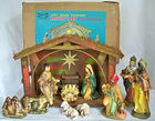 Nativity Set W/ Manger