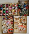 Box Lots of Vintage Ornaments