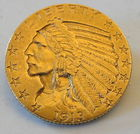 1913 Gold Ind. Head 1/2 Eagle