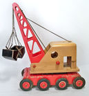 Wooden Crane, Believed German