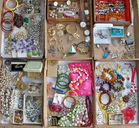 Costume Jewelry Box Lots