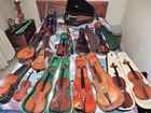 COLLECTION OF VIOLINS