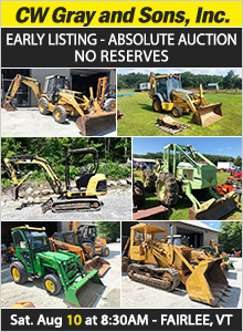 Farm Equipment Auctions: Tractors, Trailers, Bulldozers and more at