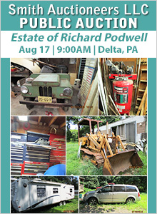 Pennsylvania Auctions & Auction Houses   PA Estate Sales