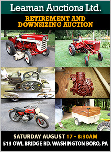 Farm Equipment Auctions: Tractors, Trailers, Bulldozers and