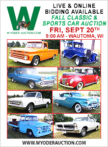 561 - Fall Classic & Sports Car Auction Sept. 20 - 09/20
